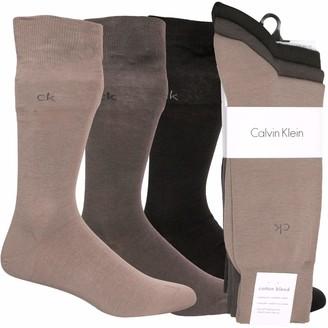 Calvin Klein Men's Socks Herren Socken 3er Pack (Schwarz) 40/46