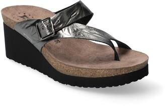 Mephisto Tyfanie Wedge Slide Sandal