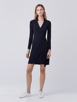 Diane von Furstenberg New Jeanne Two Matte Jersey Wrap Dress