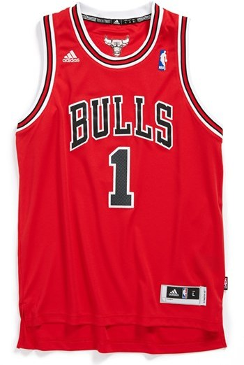 adidas 'Chicago Bulls, Derrick Rose - Swingman' Jersey (Big Boys)