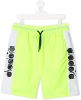 Diadora Junior panelled track shorts