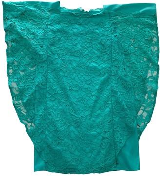 Patrizia Pepe Turquoise Lace Dress for Women