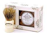 D.R. Harris D.R.Harris & Co Arlington Shaving Bowl & Brush Mahogany Effect Gift Set