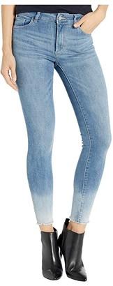 DL1961 Florence Ankle Mid-Rise Instasculpt Skinny in Malta (Malta) Women's Jeans