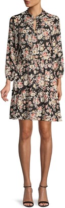 Supply & Demand Floral Blouson Dress