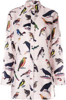 Paul Smith bird print shirt