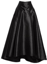 Eliza J Women's High/low Moire Taffeta Ball Skirt