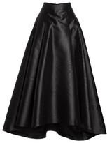 Eliza J Women's High/low Moire Taffeta Ball Skirt