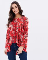 Aerin Ruffle Front Blouse