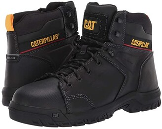 Caterpillar Wellspring Waterproof Metatarsal Guard Steel Toe (Real Brown Leather) Men's Work Boots