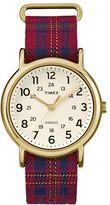Timex Women's Weekender Plaid Watch - TW2R11000JT