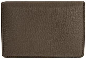 Maison Margiela Taupe Card Wallet