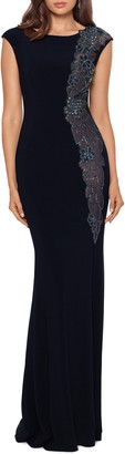 Xscape Evenings Embroidered Mermaid Gown