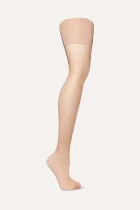 Spanx Firm Believer Sheers High-rise 20 Denier Shaping Tights - Beige
