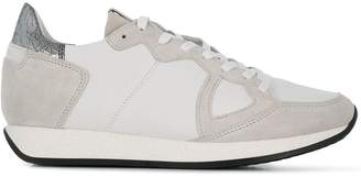 Philippe Model Paris flat lace fastened sneakers