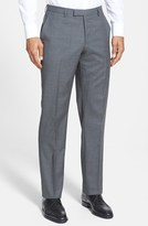 BOSS Men's 'Sharp' Flat Front Wool Trousers