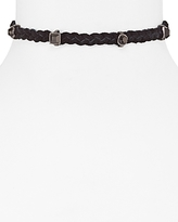 Rebecca Minkoff Leather and Stone Choker Necklace, 11