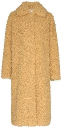 Stand Studio Leah faux-shearling coat