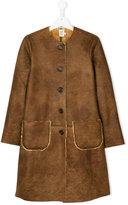 Caffe' D'orzo single breasted coat