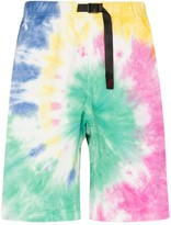 Gramicci tie-dyed shorts