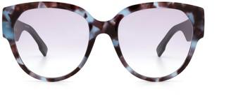 Christian Dior Diorid2 Blue Havana Sunglasses