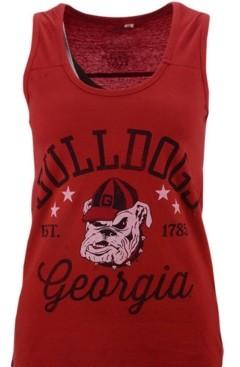 Royce Apparel Inc Women's Georgia Bulldogs Jersey Tank