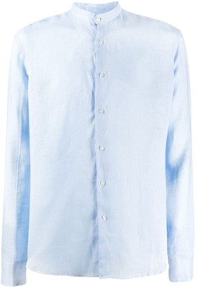 Peninsula Swimwear Budelli mandarin-collar shirt
