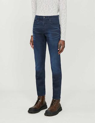 HUGO BOSS Leisure regular-fit tapered denim jeans