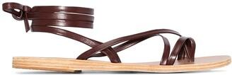 Ancient Greek Sandals Morfi leather sandals