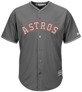Majestic Men's Houston Astros Platinum Cool Base Jersey