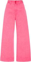 Apiece Apart Zinc Pink Cropped Pants