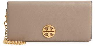 Tory Burch Chelsea Leather Wristlet Wallet
