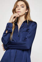 BCBGeneration Long-Sleeve Satin Pajama Shirt