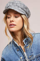 Anthropologie Rafaella Tweed Engineer Cap