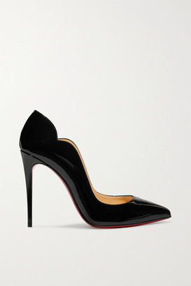 Christian Louboutin Hot Chick 100 Patent-leather Pumps - Black