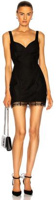 ZEYNEP ARCAY Mini Lace Dress in Black | FWRD