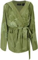 Fenty X Puma tonal floral kimono jacket