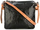 MM6 MAISON MARGIELA cracked leather effect crossbody bag