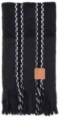 Loewe Stitches mohair scarf