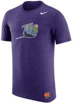 Nike Men's Tampa Bay Rays Coop Tri-Blend T-Shirt