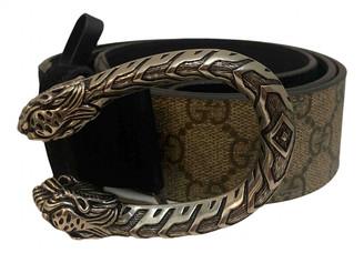 Gucci Dionysus Black Leather Belts