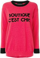 Moschino Boutique C'est Chic jumper - women - Cashmere/Virgin Wool - S