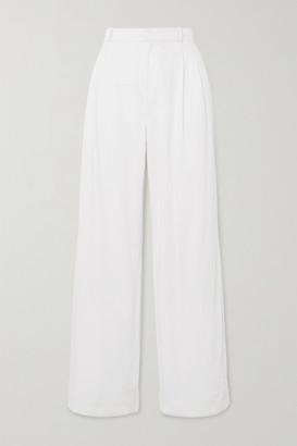 ÀCHEVAL PAMPA Gardel Cotton-blend Wide-leg Pants - White