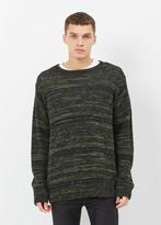 Dries Van Noten Black Native Sweater