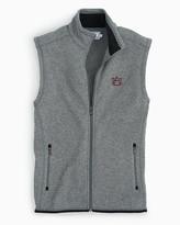 Southern Tide Auburn Sweater Fleece Vest