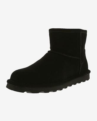 Express Bearpaw Short Suede Boots