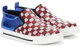 Marc Jacobs Embellished Slip-on Sneakers