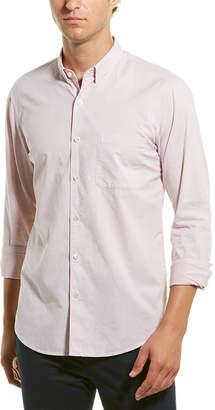 Theory Rammy Chambray Woven Shirt