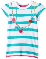 Hatley Shell Necklace Graphic Tee Girl's T Shirt