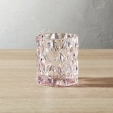 CB2 Betty Pink Tea Light Candle Holder